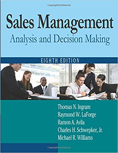 Book Review: Sales Management: Analysis and Decision Making